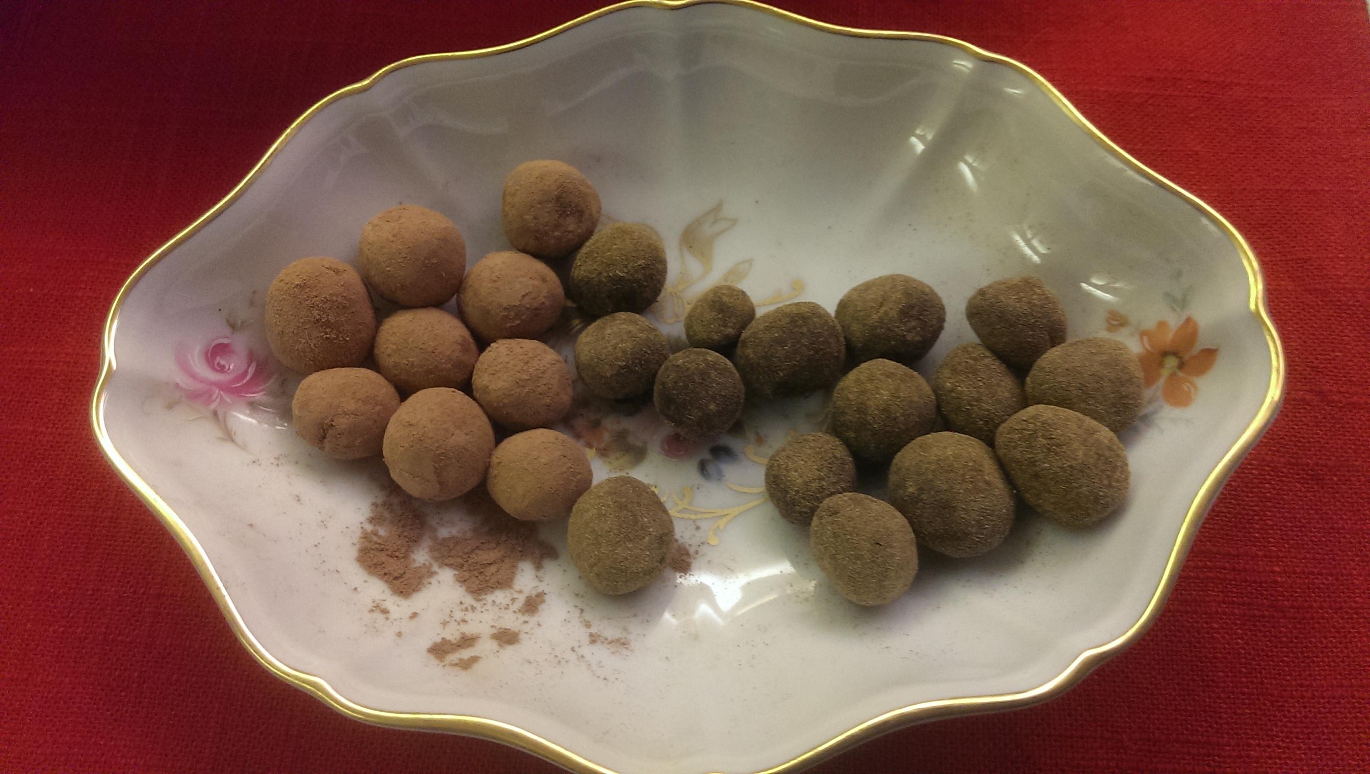 Lakris og sjkoladepeppermynte kuler